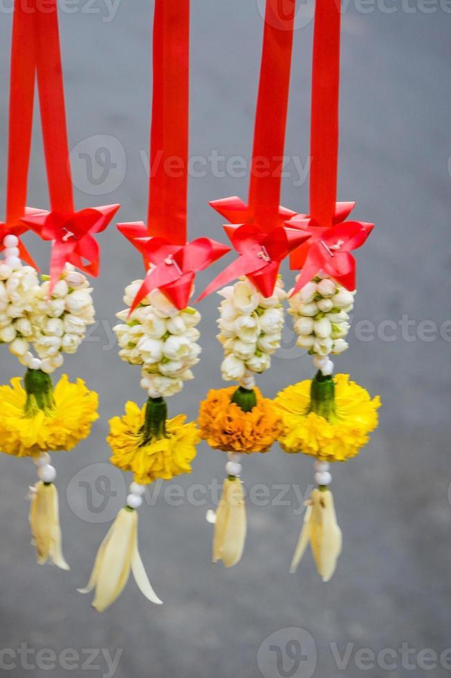 Blumengirlande foto