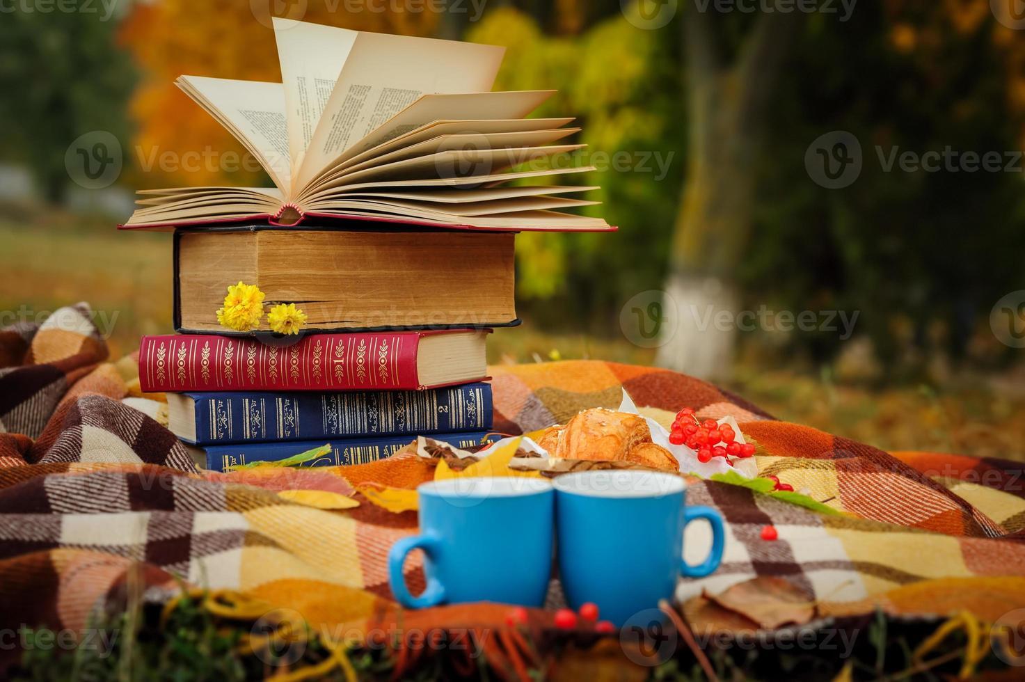 romantisches Herbststillleben foto