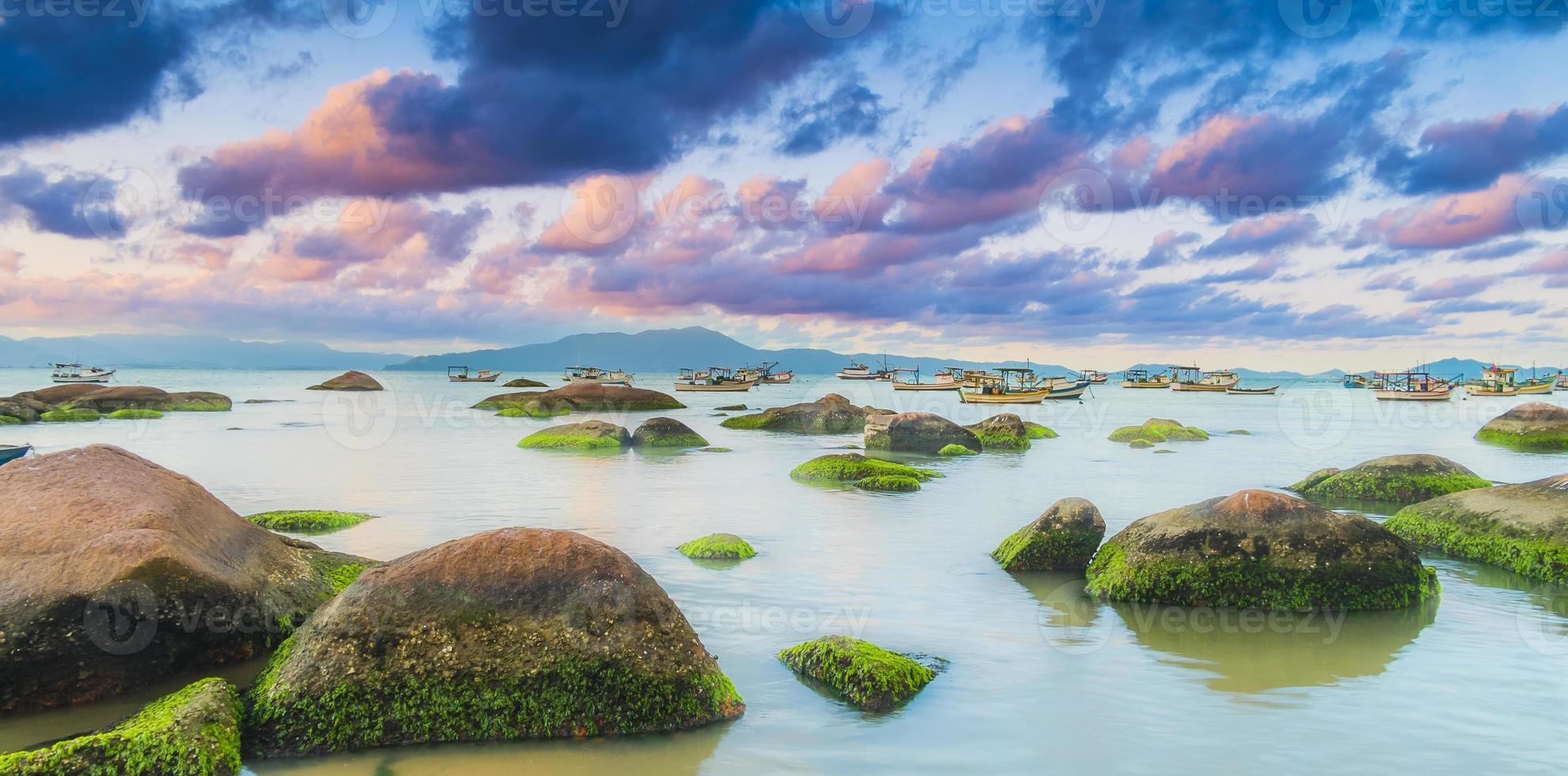Fischerdorf südlich von Brasilien foto