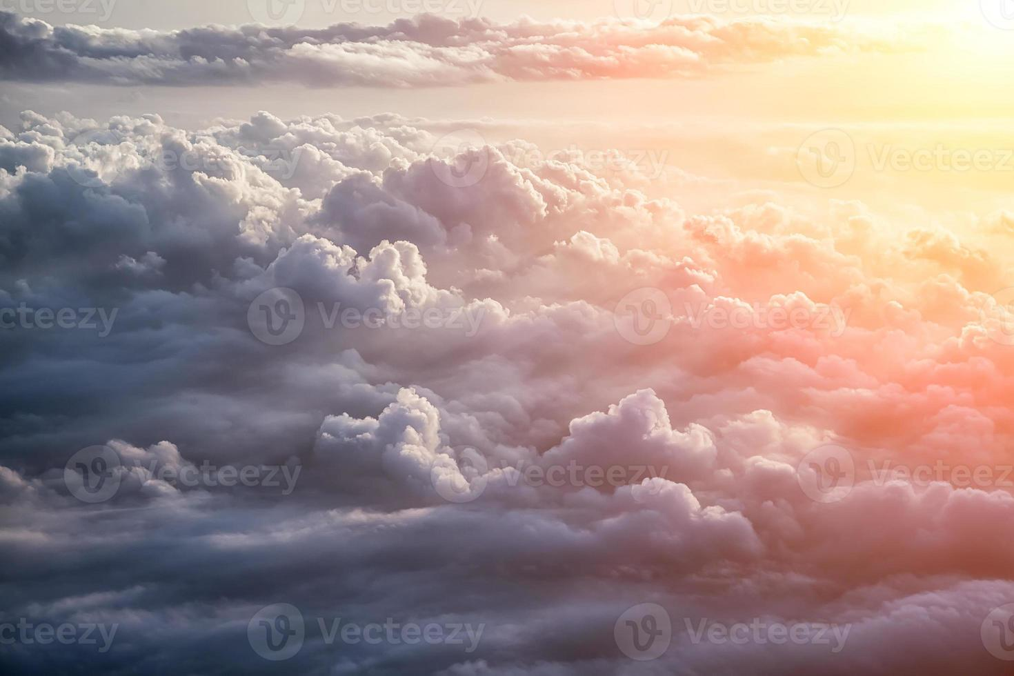 schöner blauer Himmelhintergrund foto