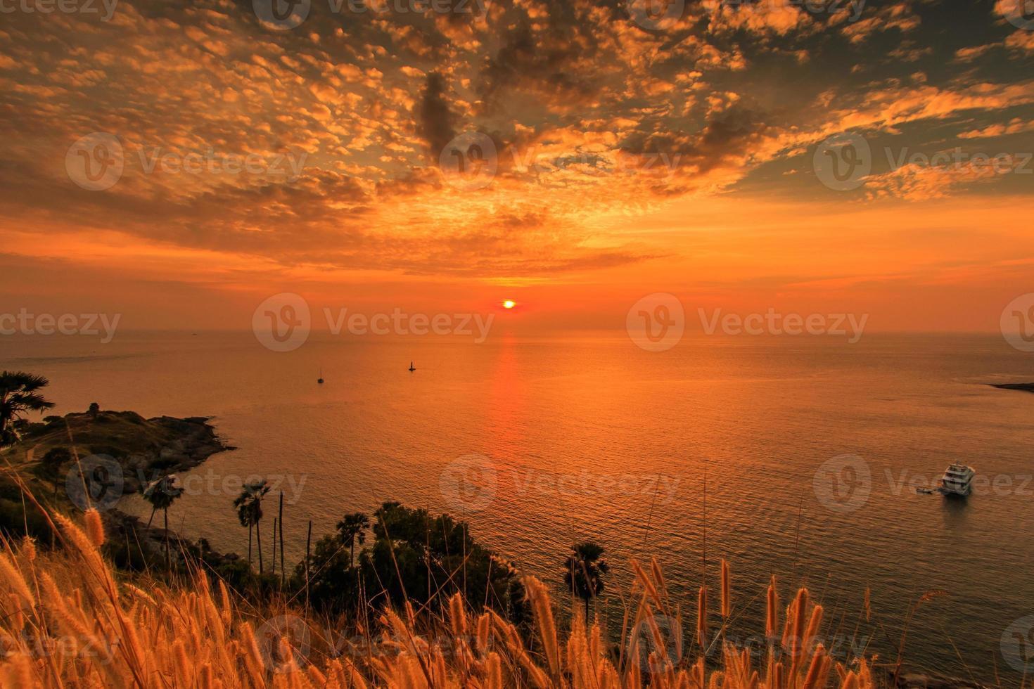 Promthep Kap auf Phuket Island, Thailand foto