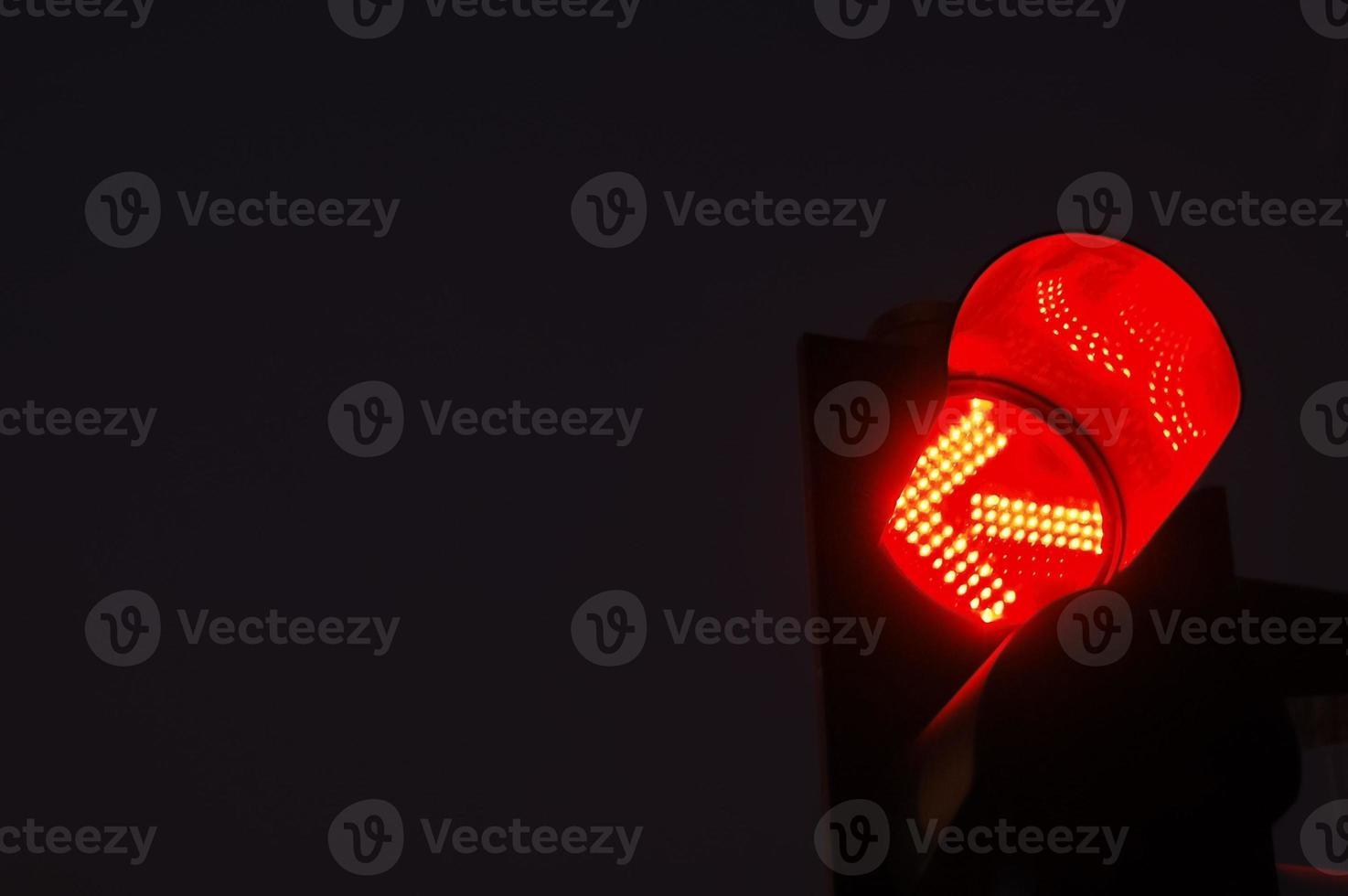 rote Ampel foto