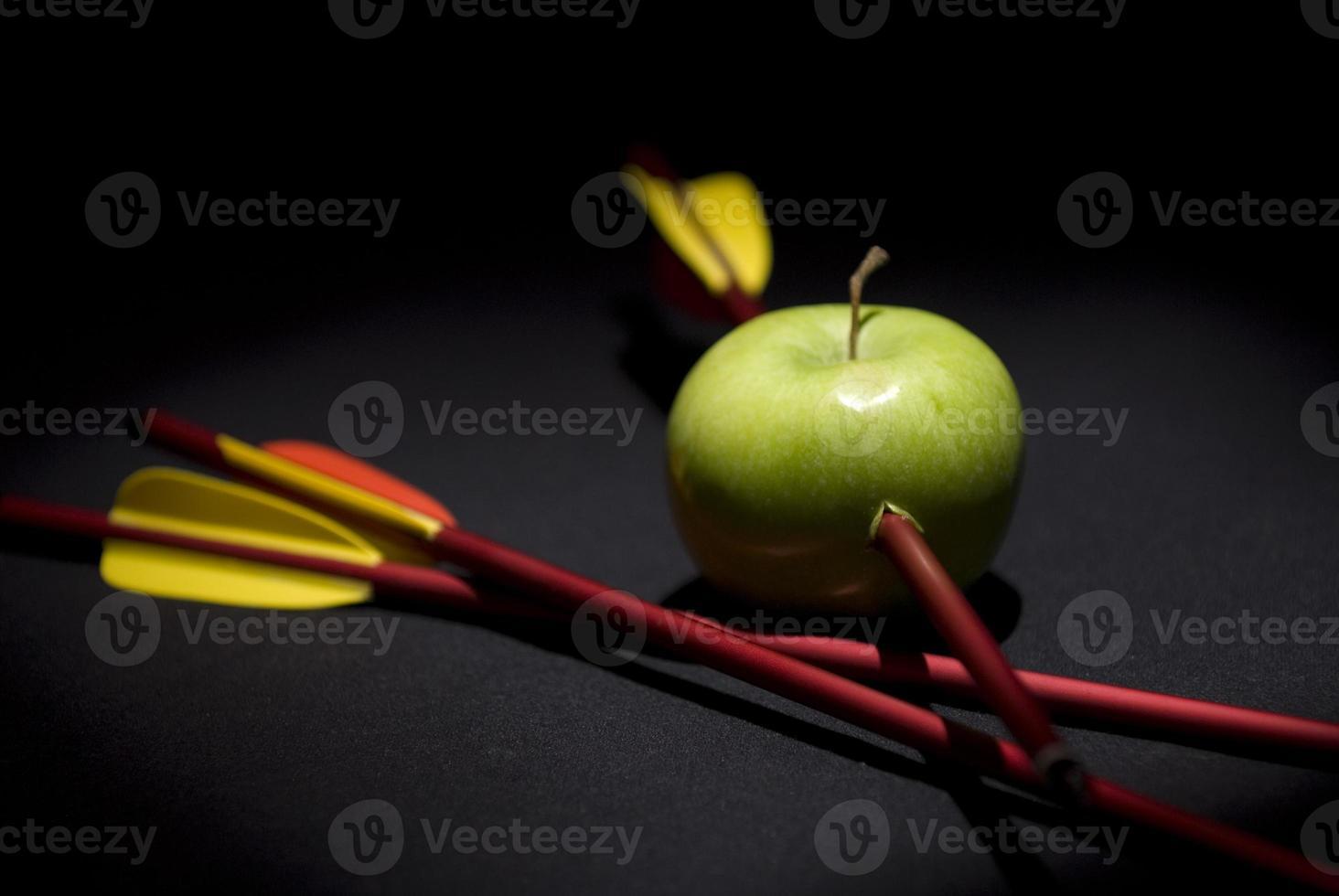 William erzählt Apfel foto