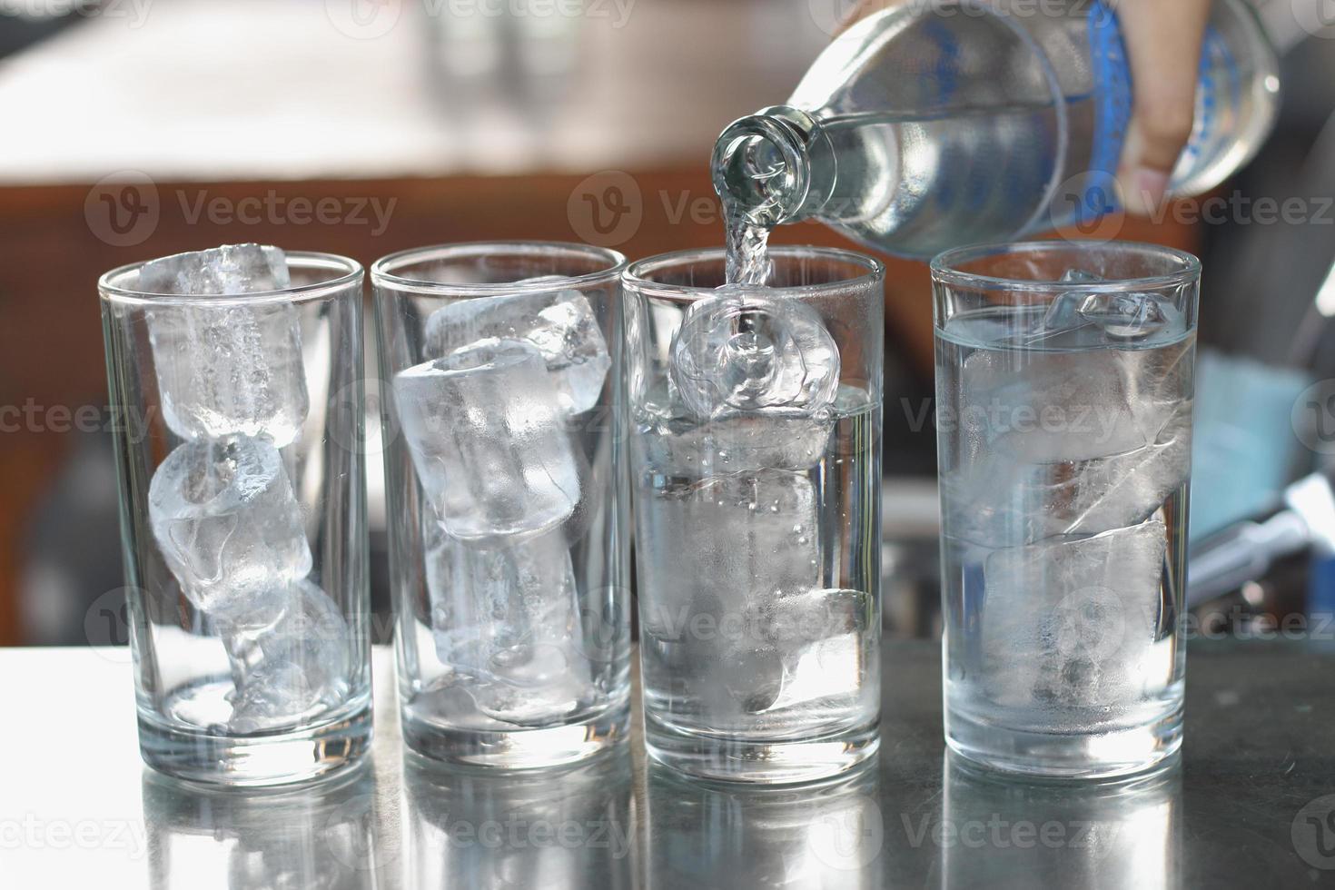 Foto von Wasserglas