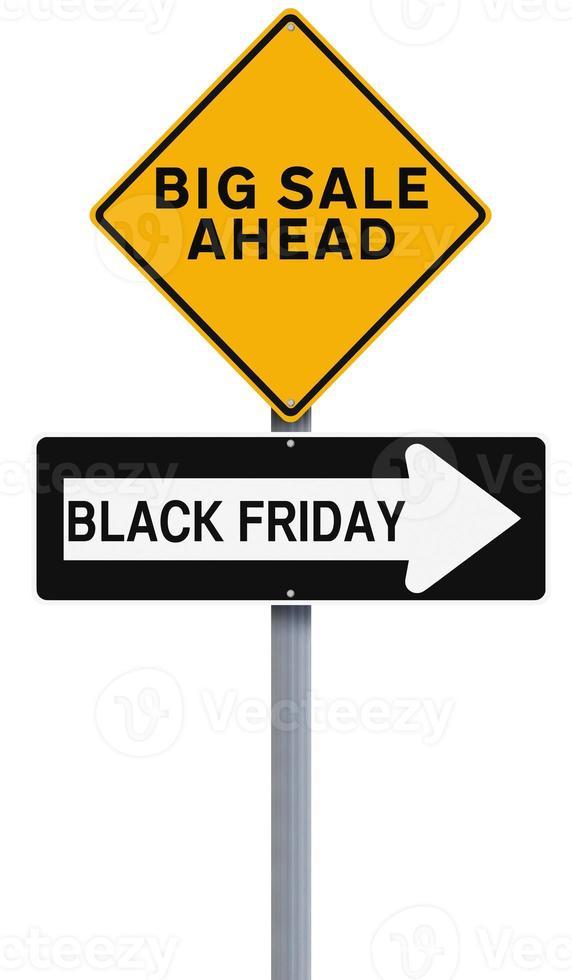 großer schwarzer Freitag Verkauf foto