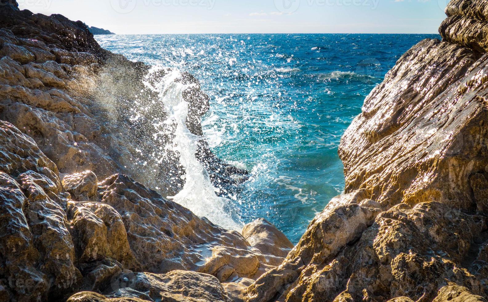 natürlicher Brunnen foto
