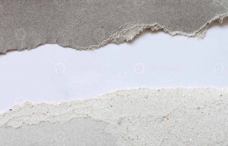 Papierstruktur. Blatt Papier. foto