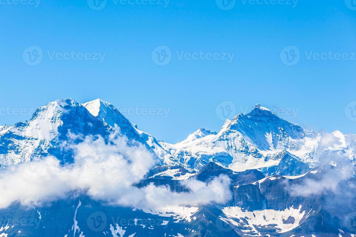 Eiger, Mönch und Jungfrau foto