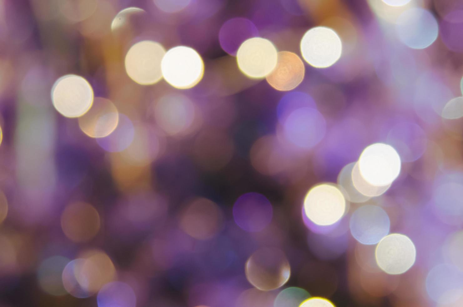 lila Bokeh Hintergrund foto