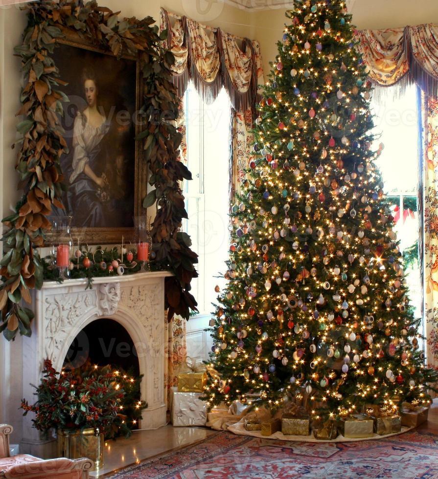 Weihnachtsszene foto