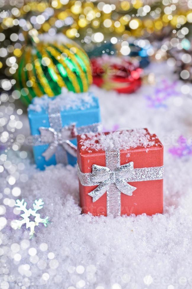 Weihnachtskomposition foto