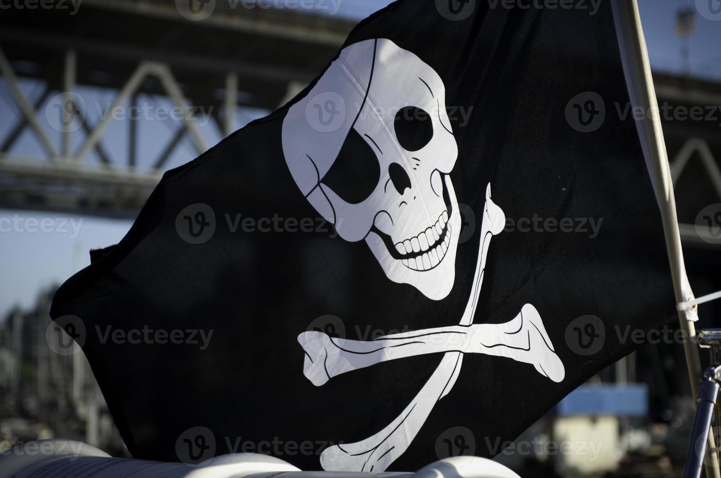 Piratenflagge foto