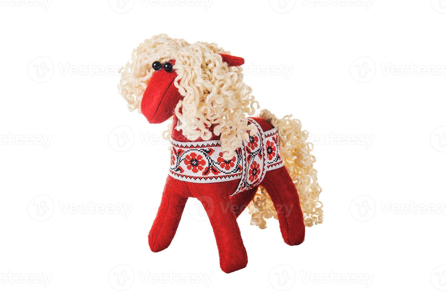 Textil Weihnachtsbaum Spielzeug foto