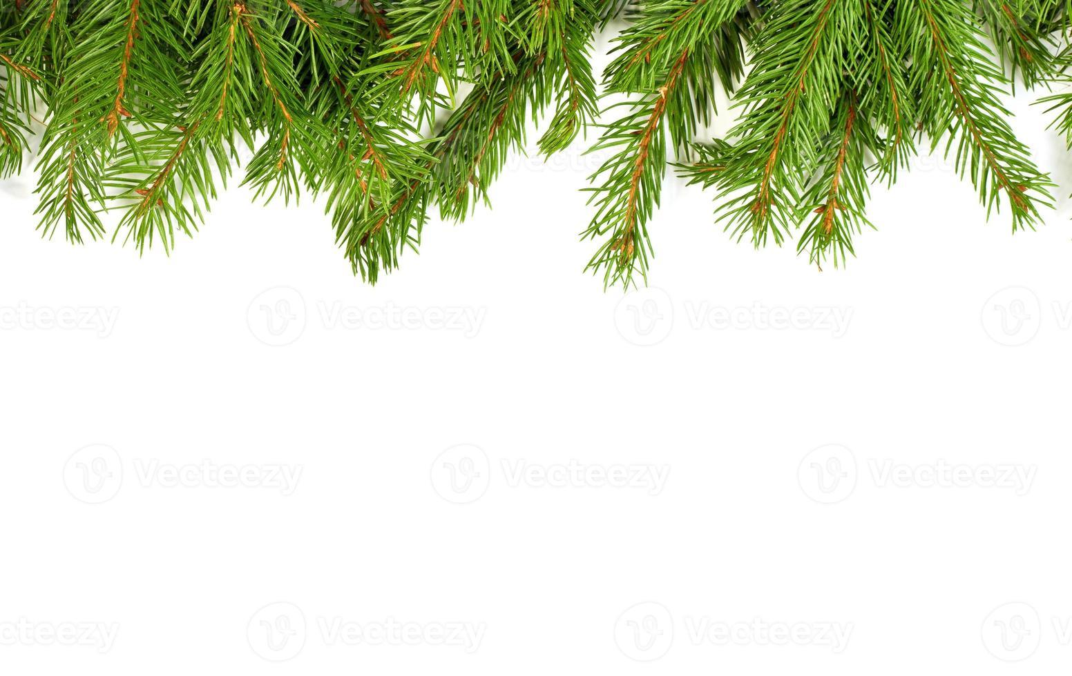 Weihnachtshintergrund. Vorabend Rahmen foto