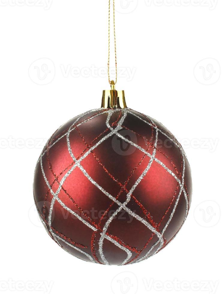 brauner Weihnachtsball foto