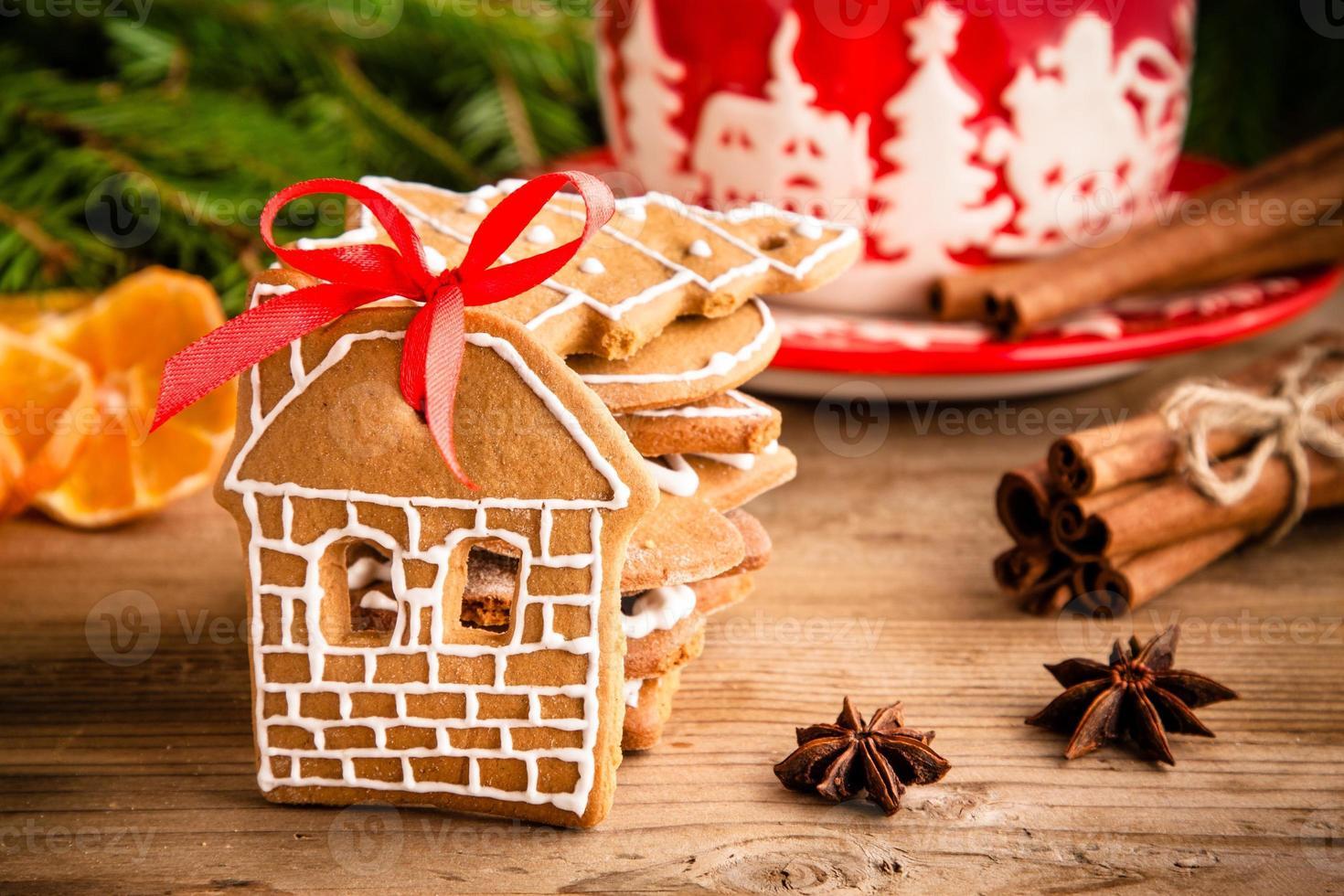 Weihnachts Ingwer Kekse foto