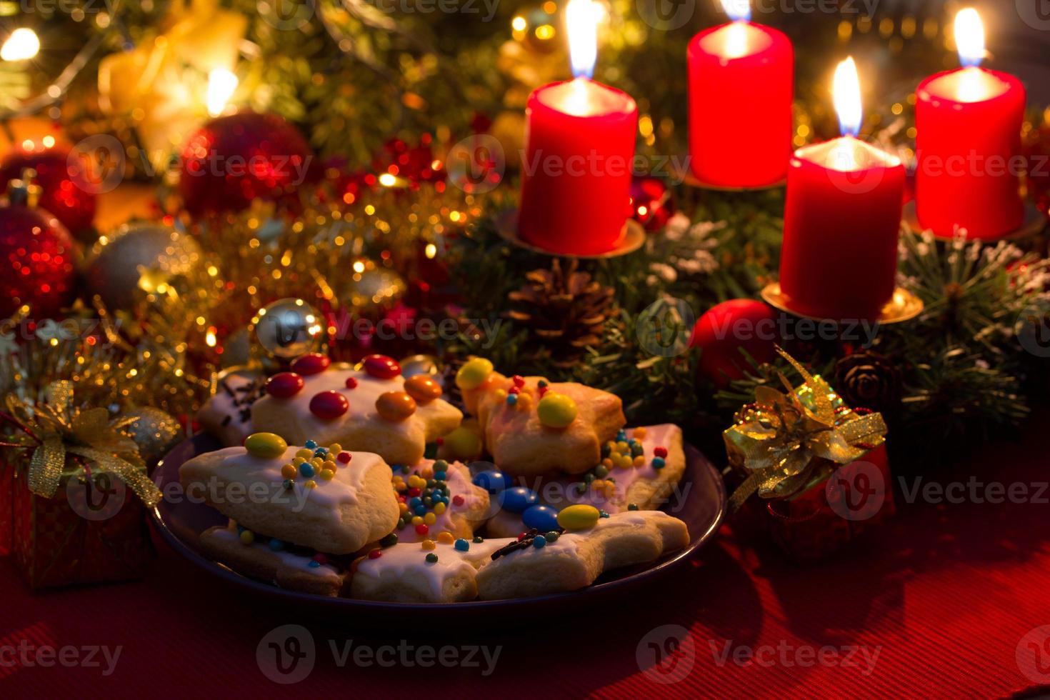Weihnachtskuchen foto
