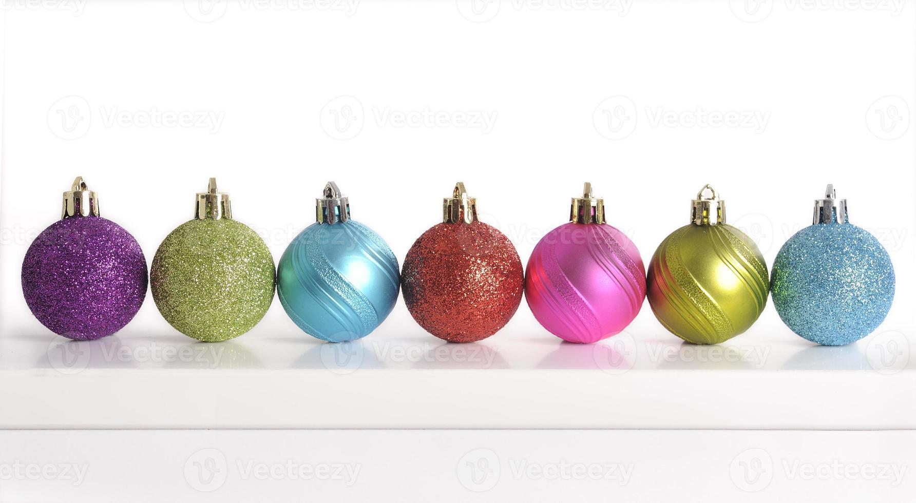 Weihnachtskugeln foto