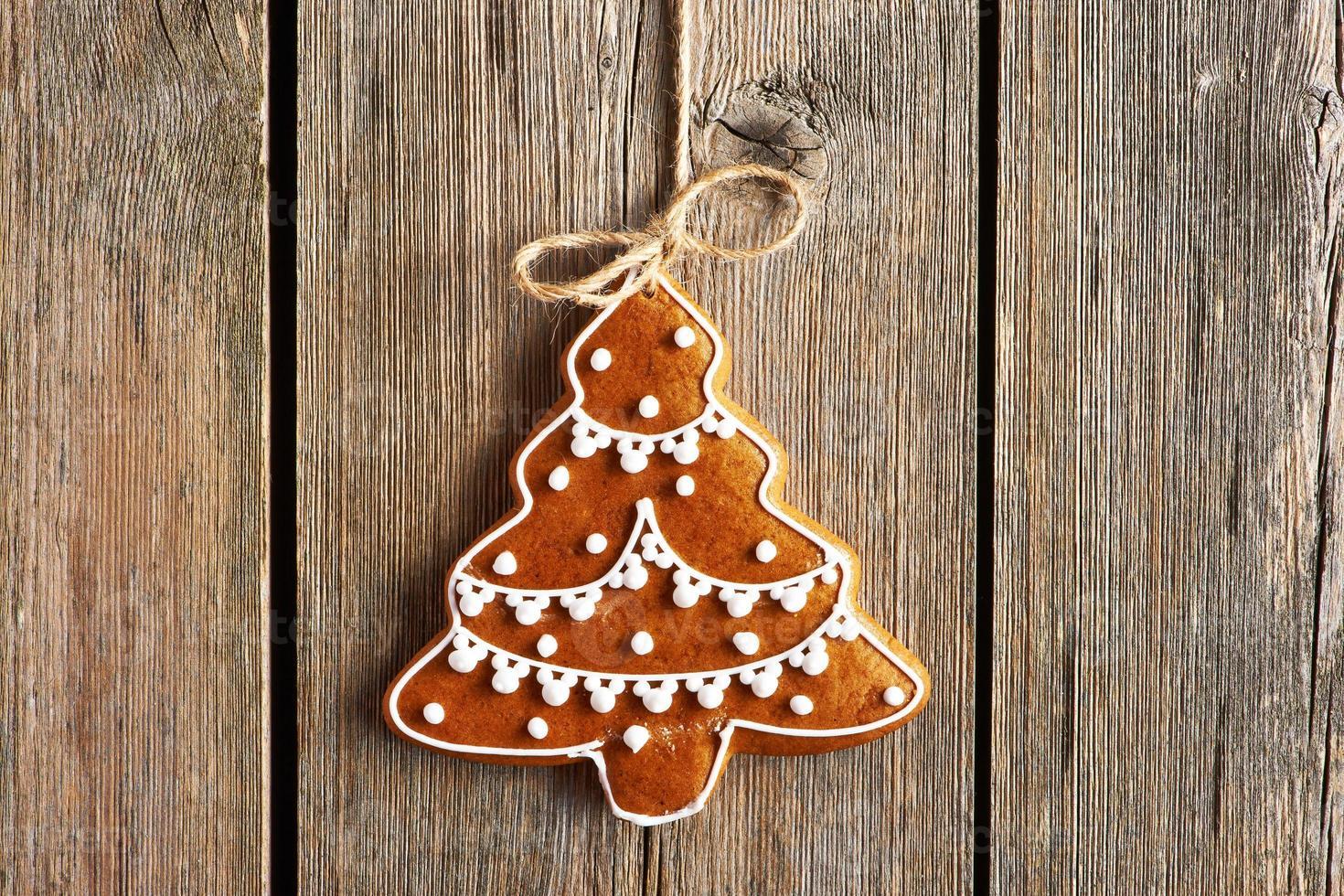 Weihnachten hausgemachten Lebkuchen Keks foto