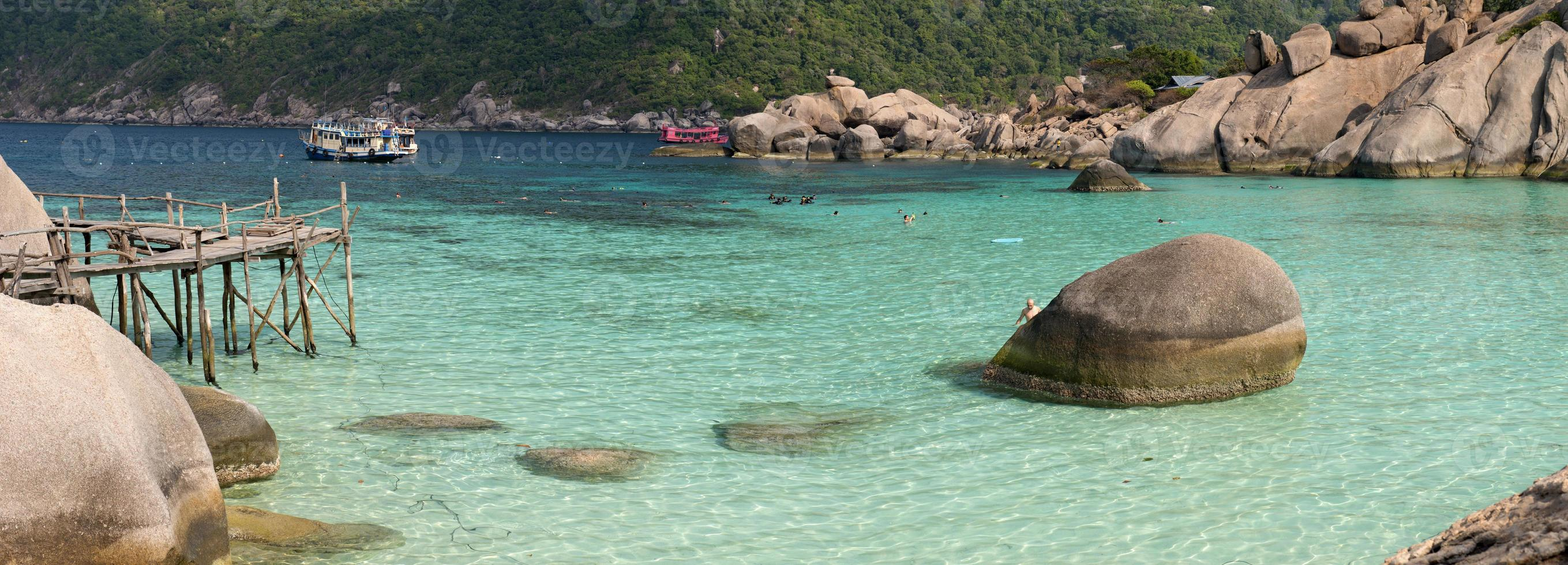 Koh Nang Yuan Insel, Thailand foto
