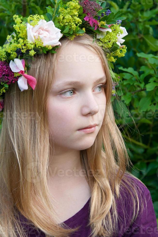 Blumenkranz foto