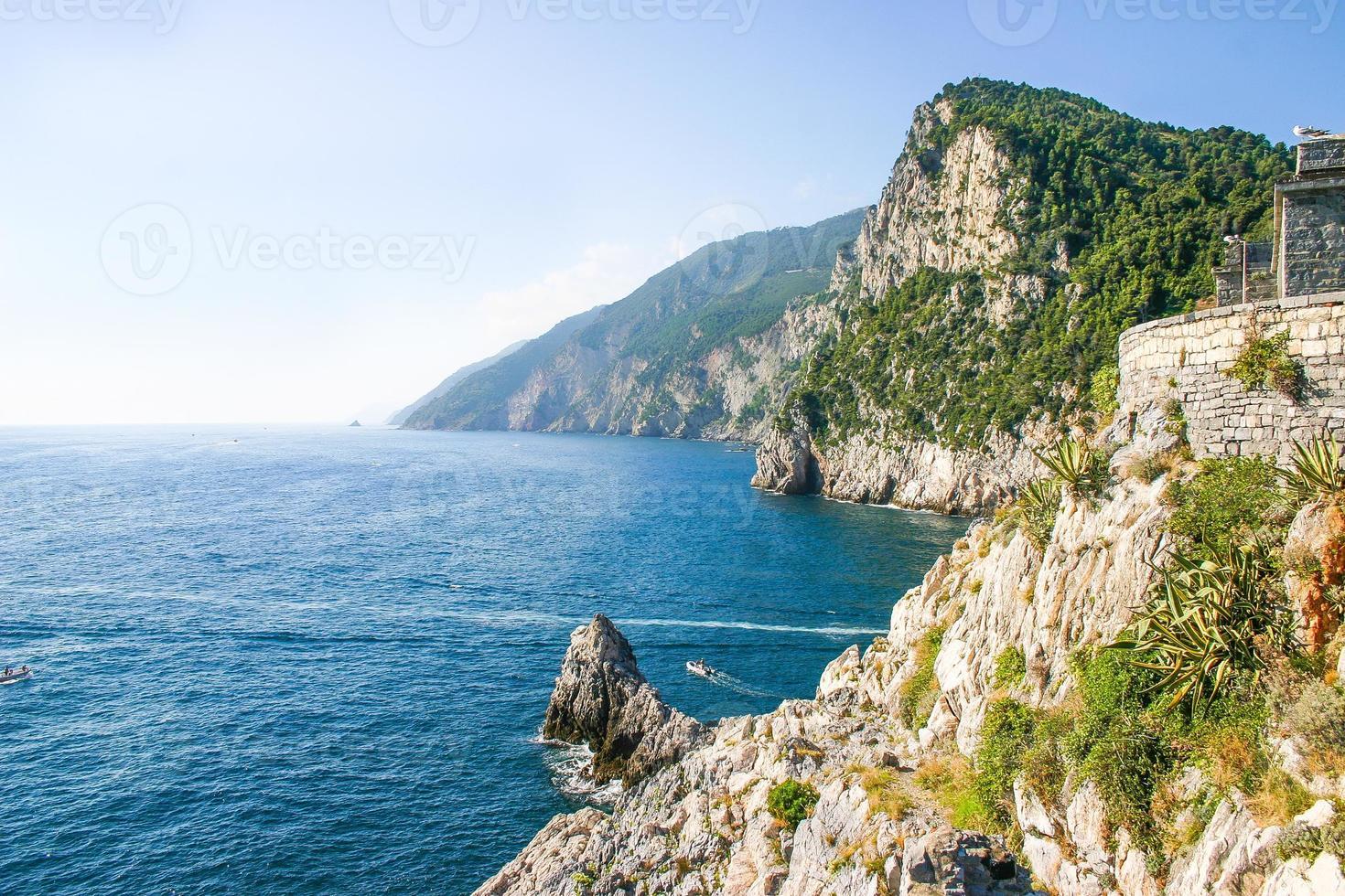 Blick auf Portovenere, Italien foto
