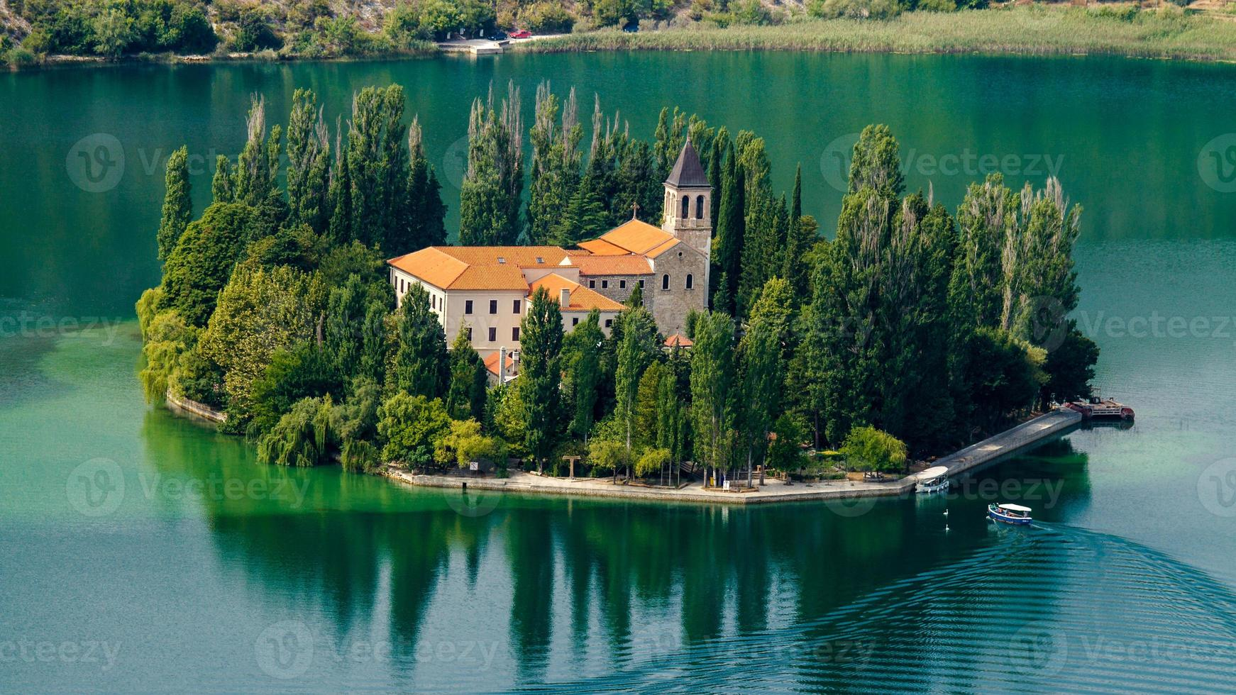 das Visovac-Kloster foto