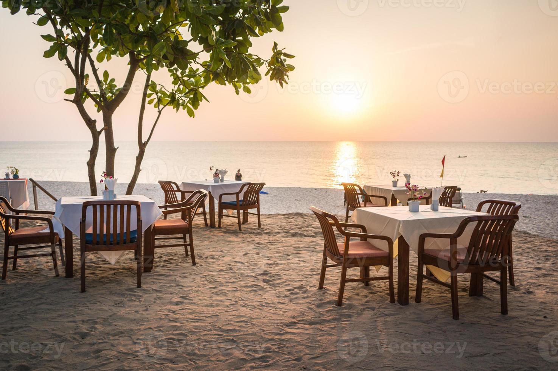 Strandrestaurant foto