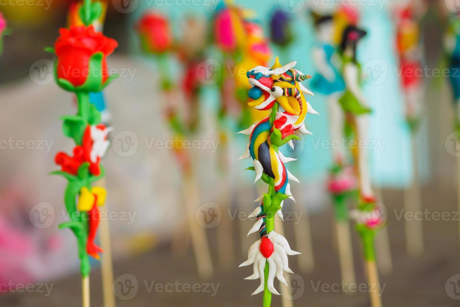 "vietnamesisches ""to he"" Spielzeug foto"