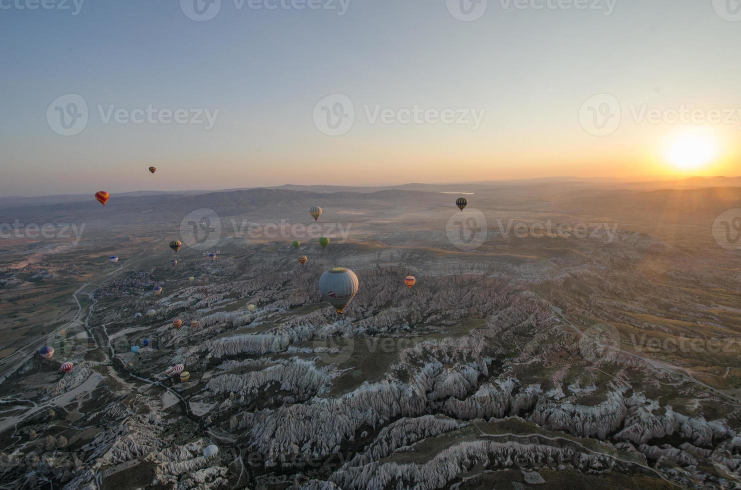 Kappadokien Ballonflug foto
