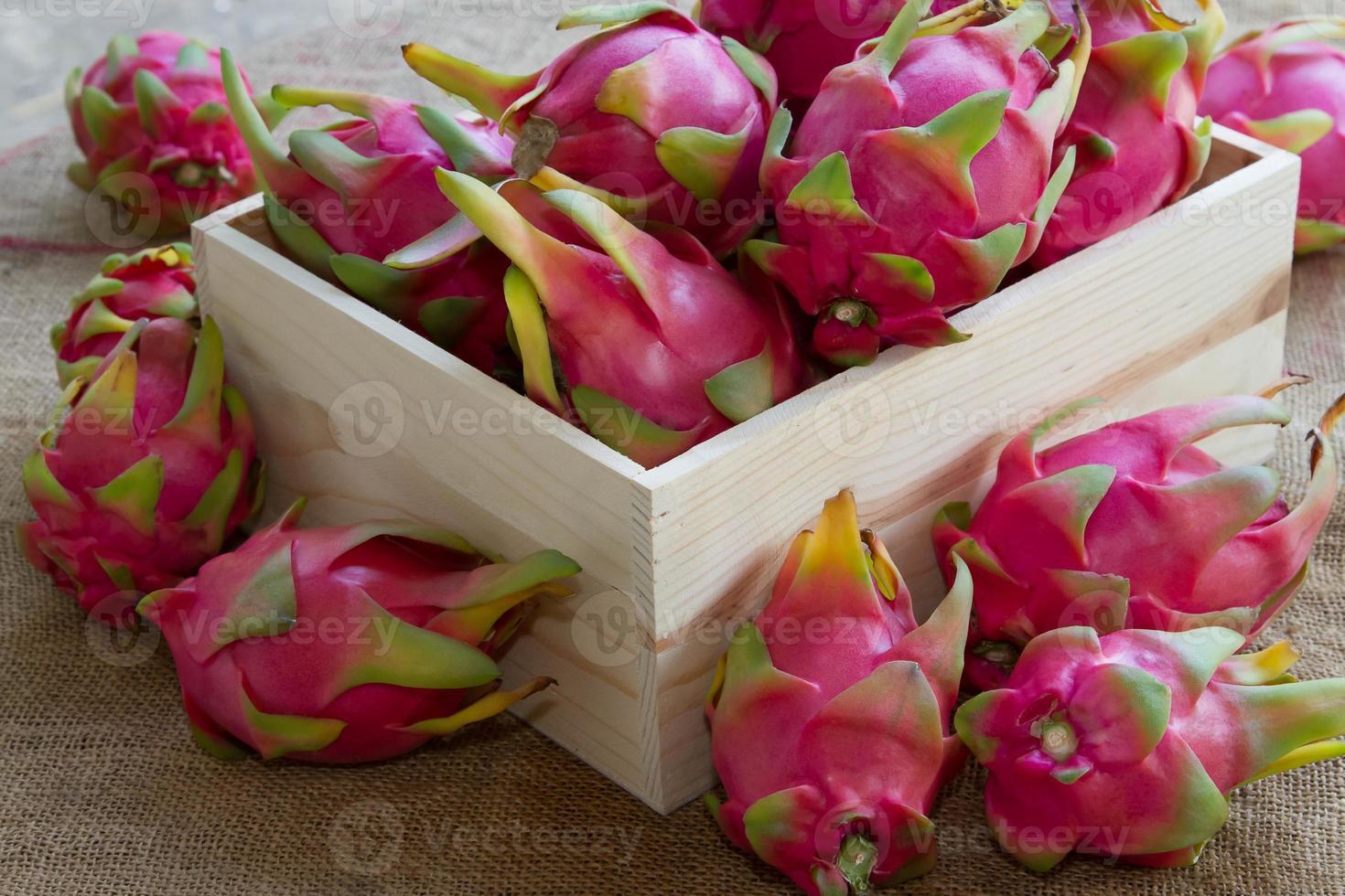 Drachenfrüchte. foto