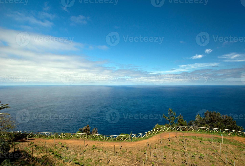Madeira Nordküste in der Nähe von Santana foto