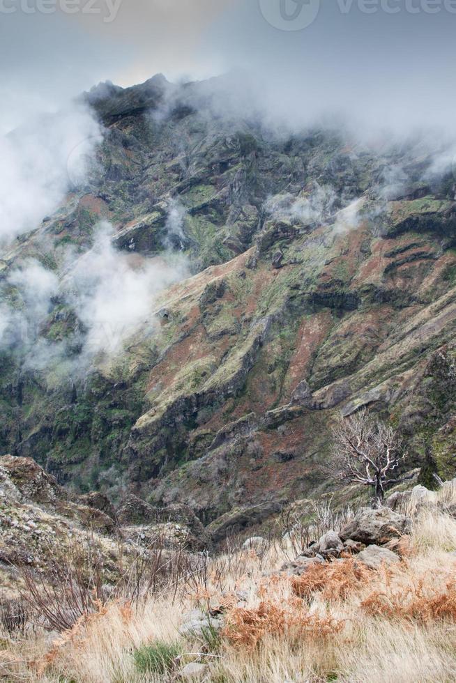 Pico do Arieiro auf der Insel Madeira, Portugal foto