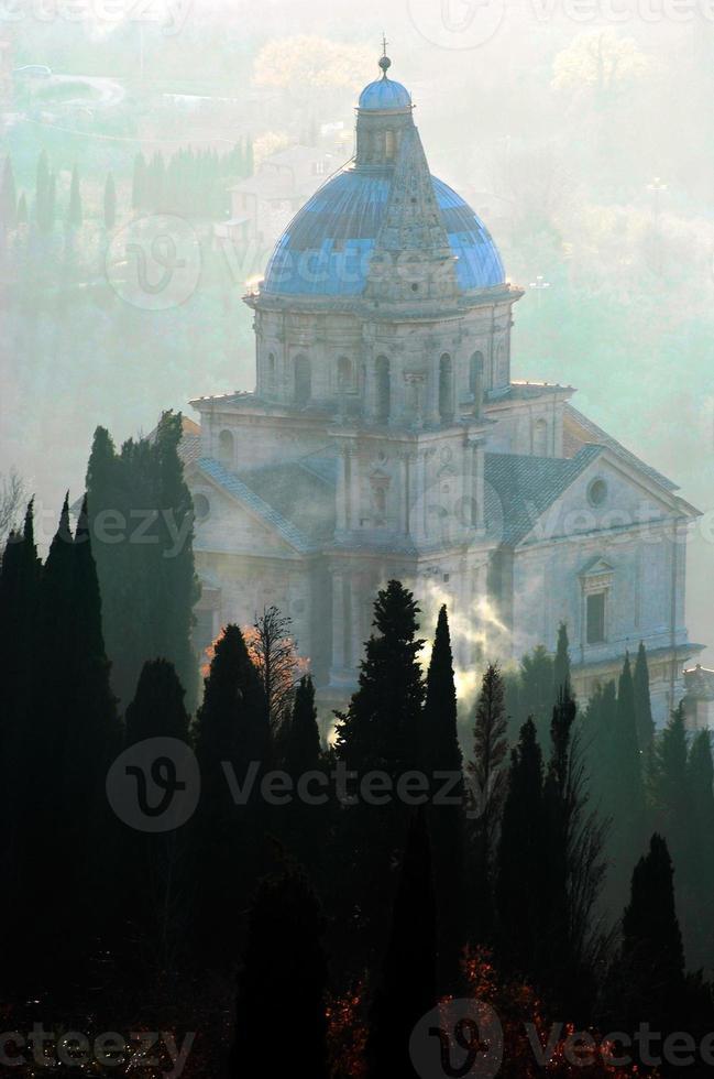 San Biagio - Montepulciano, Toskana, Italien foto