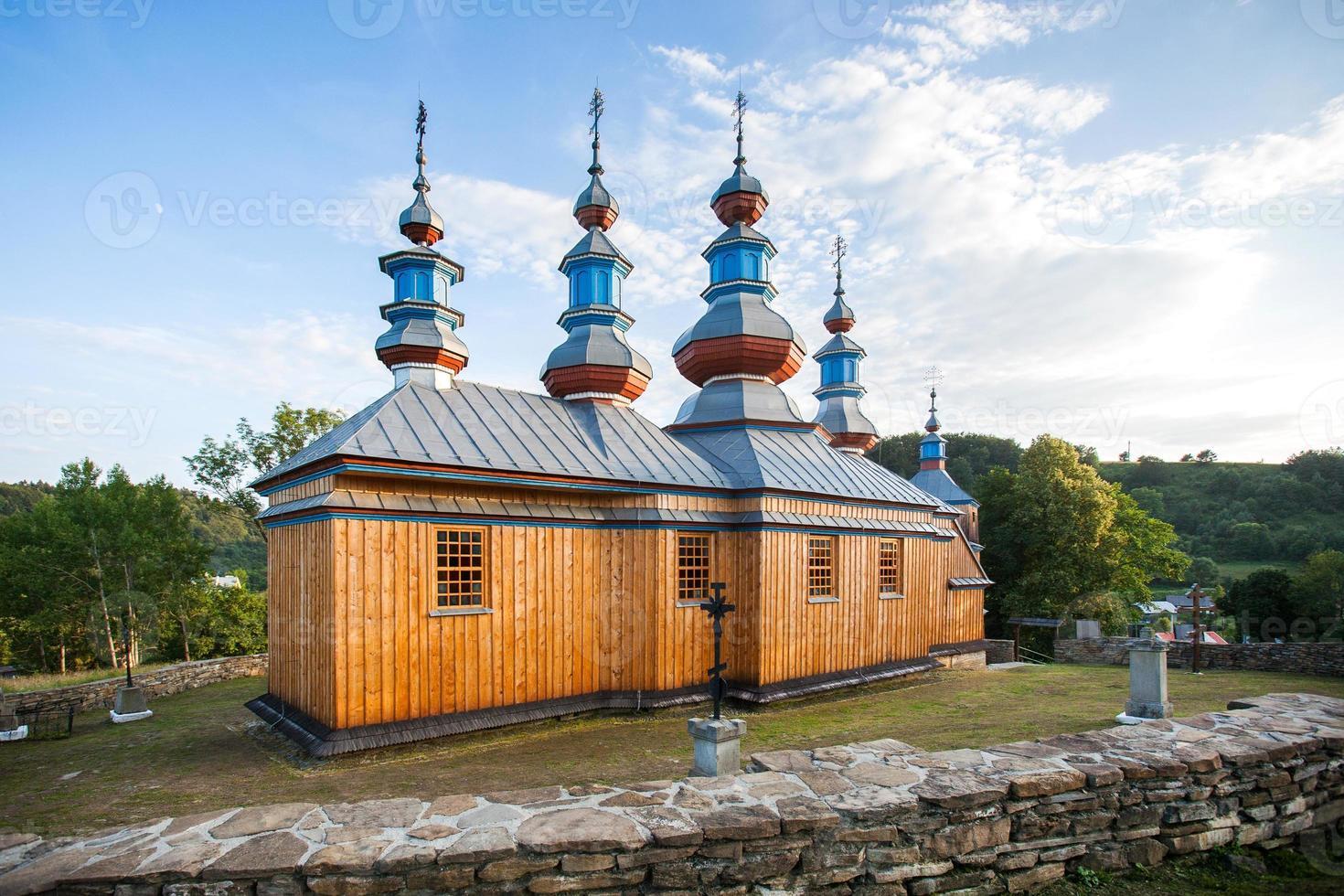 östliche orthodoxe Kirche in Komancza, Polen foto