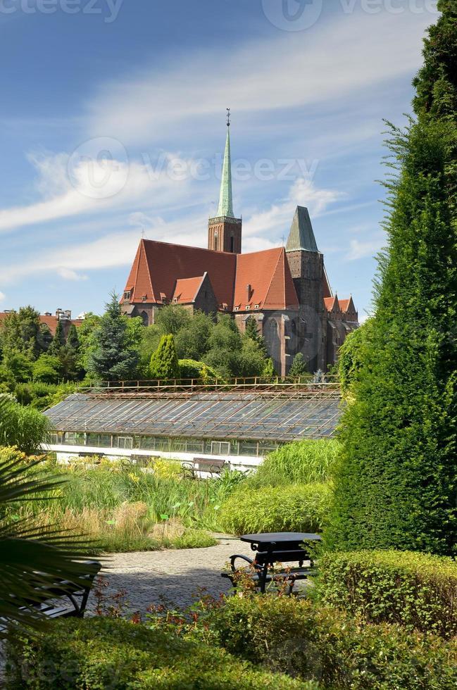 Kathedrale von st. Johannes der Täufer. Breslau, Polen foto