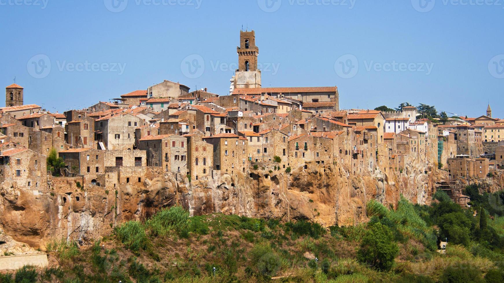 Dorf Pitigliano foto