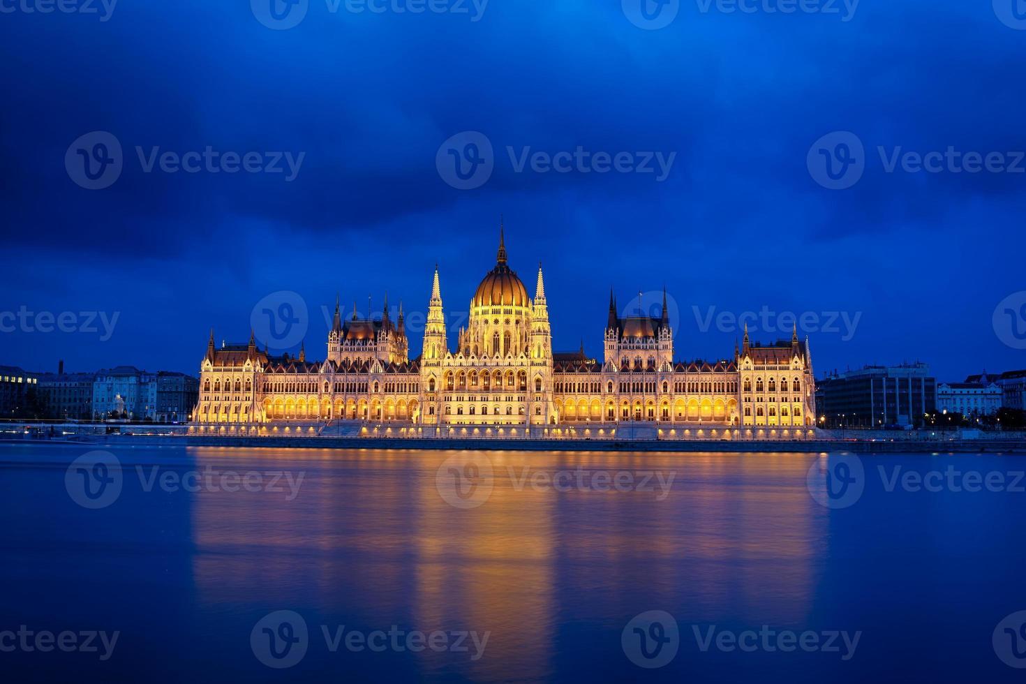 das parlament in budapest foto