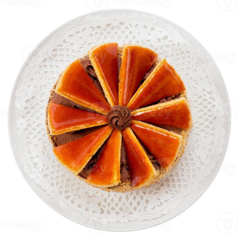 ungarischer dobos torte - kuchen foto