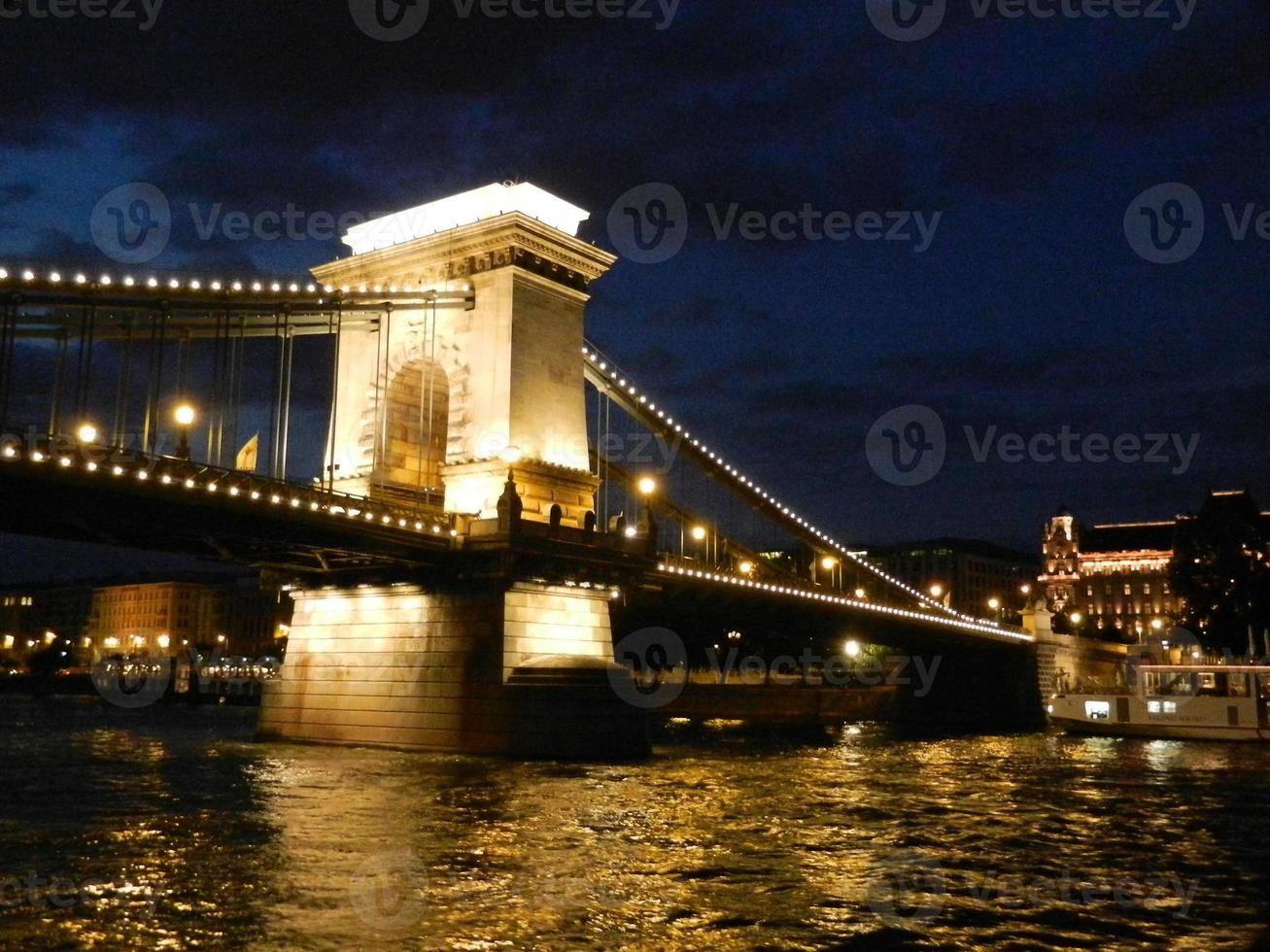 Kettenbrücke Budapest foto