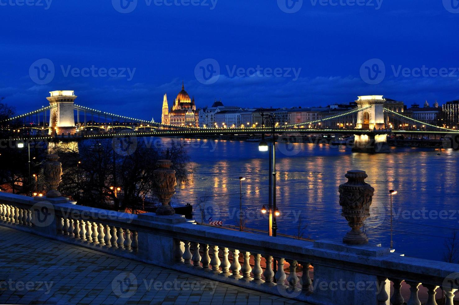 Budapest Kettenbrücke foto