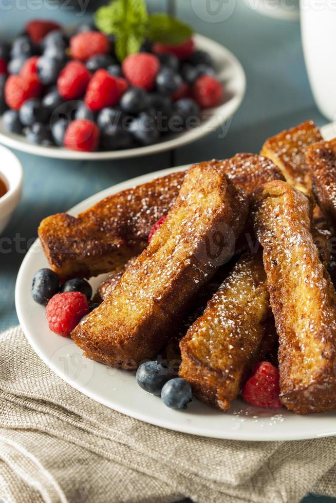 hausgemachte French Toast Sticks foto