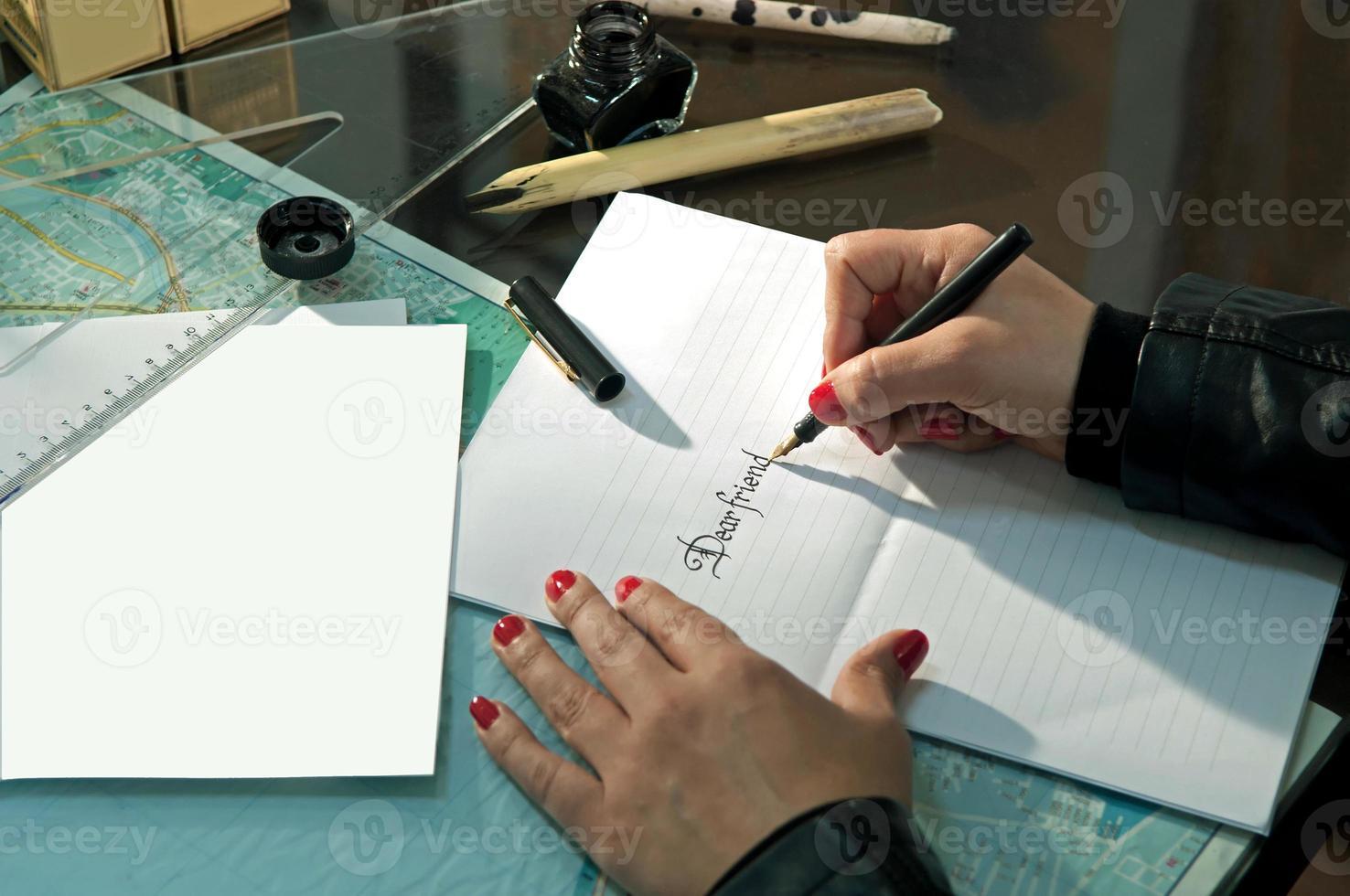 Kalligraphie foto