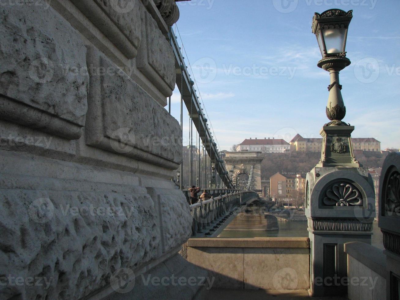 die Kettenbrücke foto