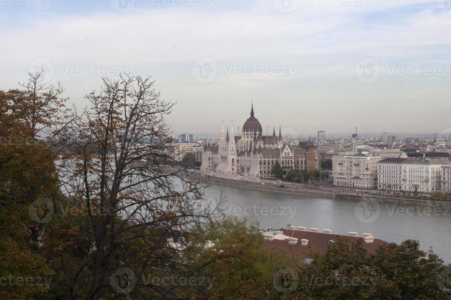 Parlament in Budapest foto