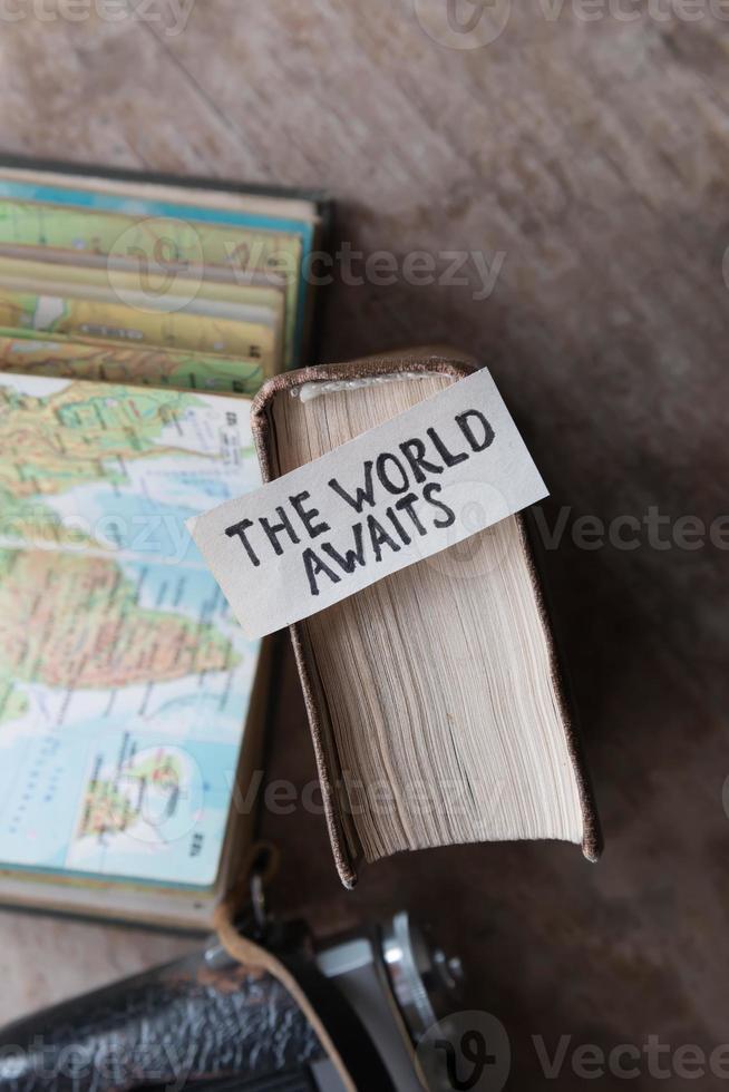 Text, den die Welt erwartet foto