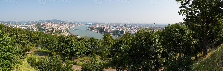 Panoramablick auf Budapest foto