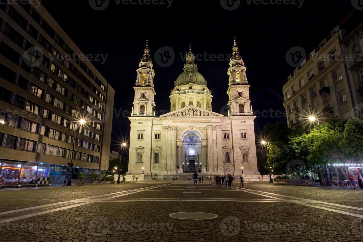 Stadt bei Nacht foto