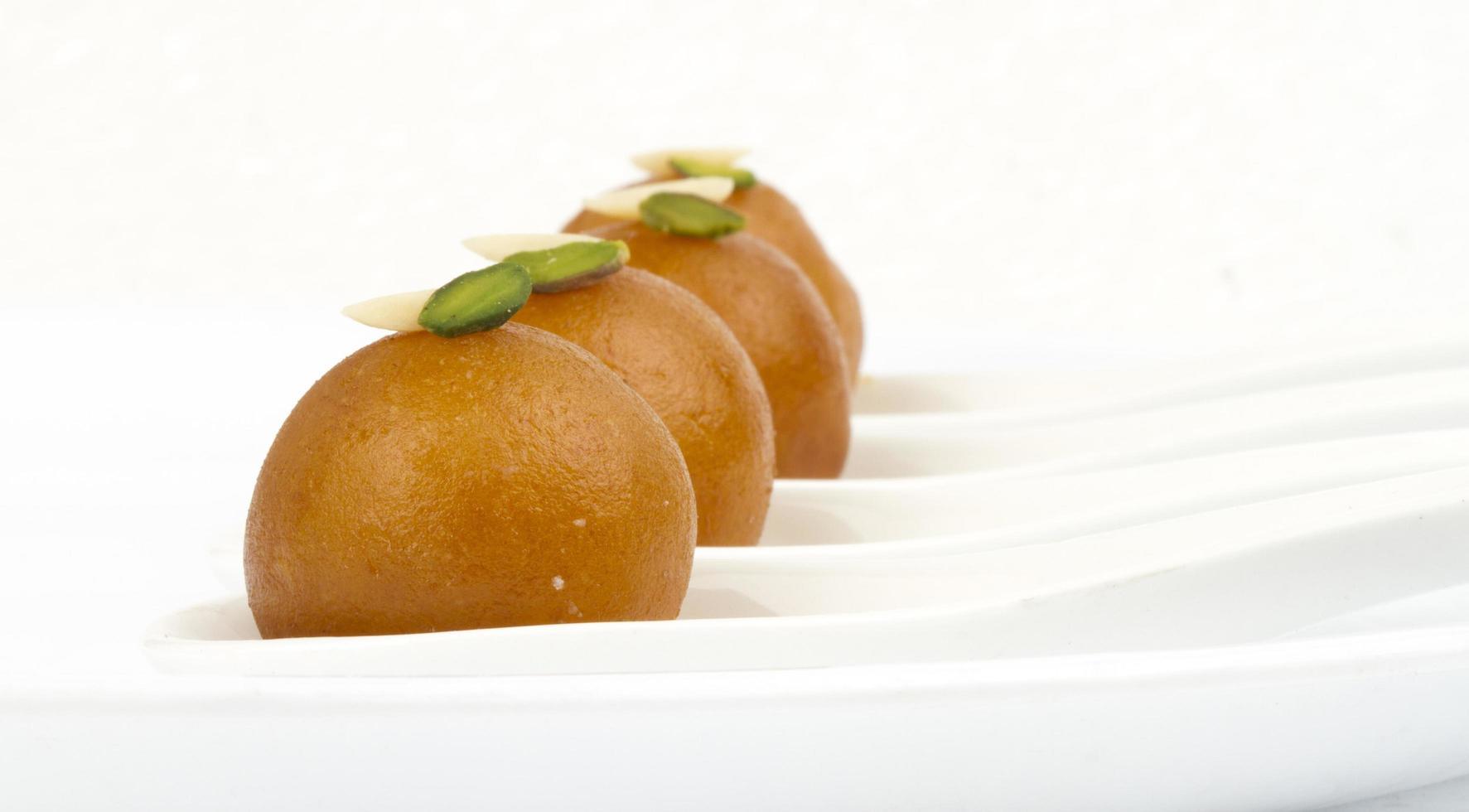 Gulab Jamun süßes Essen foto