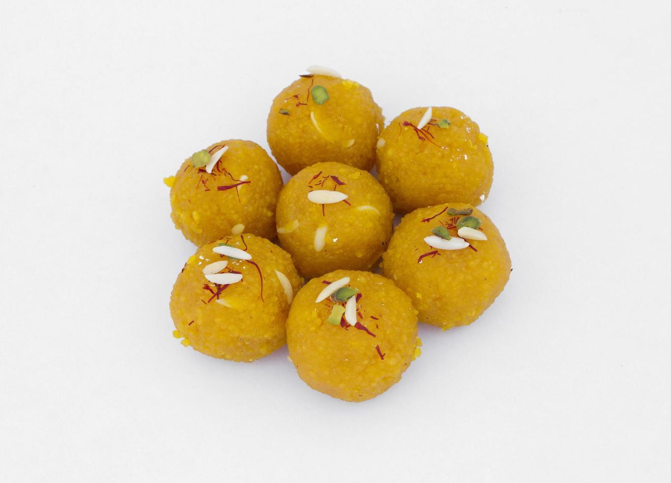 Motichoor Laddu Süßigkeiten foto